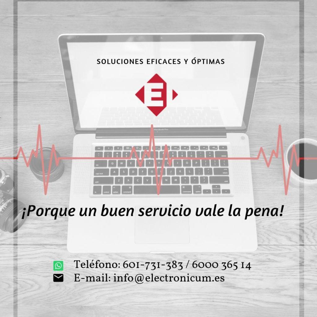 servicio técnico Macbook Air en San Javier