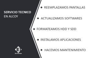 servivio tecnico macbook air en Alcoy