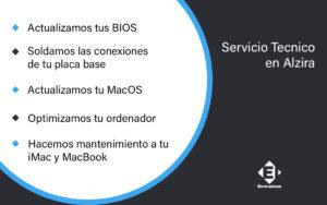 servivio tecnnico mac en Alzira