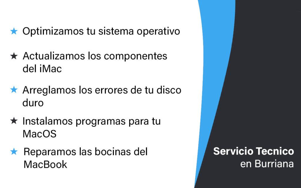 servivio tecnico mac en Burriana