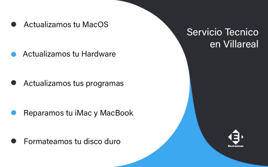 servicio tecnico macbook pro en Elda